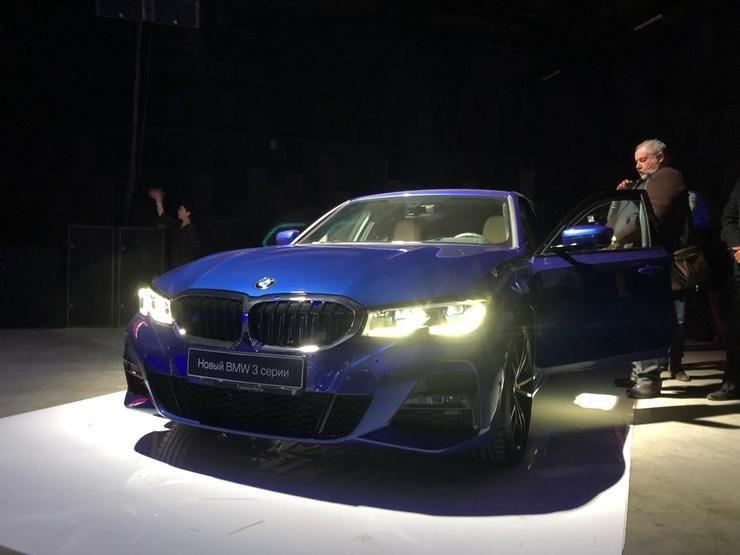 В Москве презентовали BMW 3 Series — Teletype