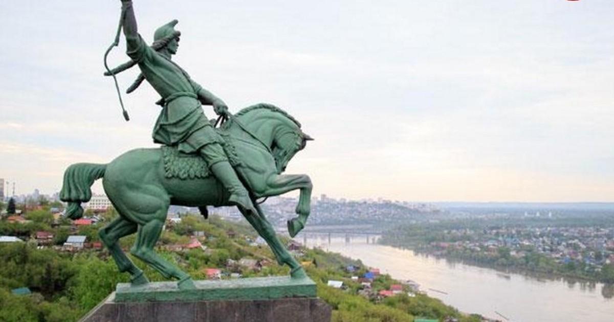 Фото памятника салавата юлаева на рабочий стол