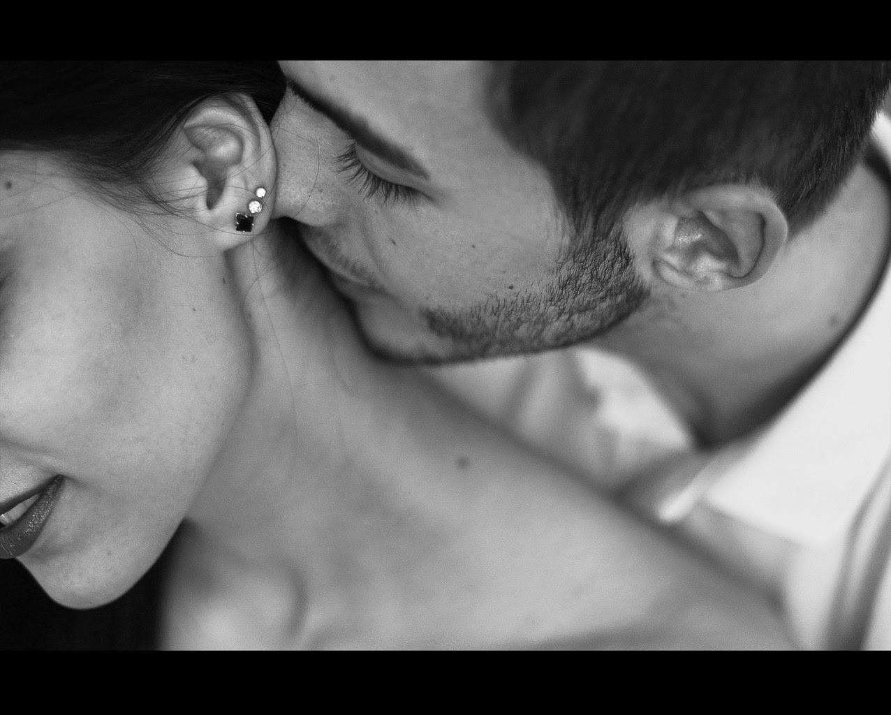 Поцелуй в шейку картинки