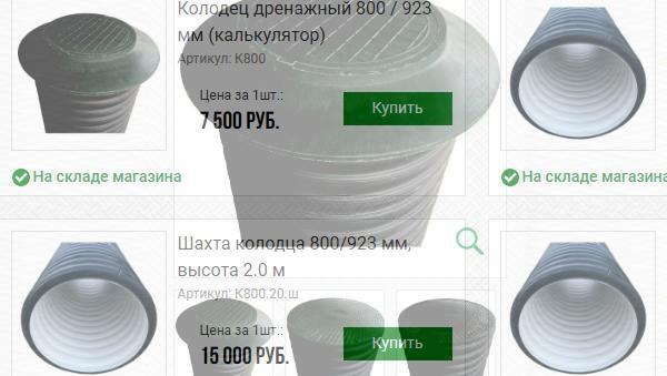 Недорогие и высококачественные пластиковые дренажные колодцы в «МелиоТех»