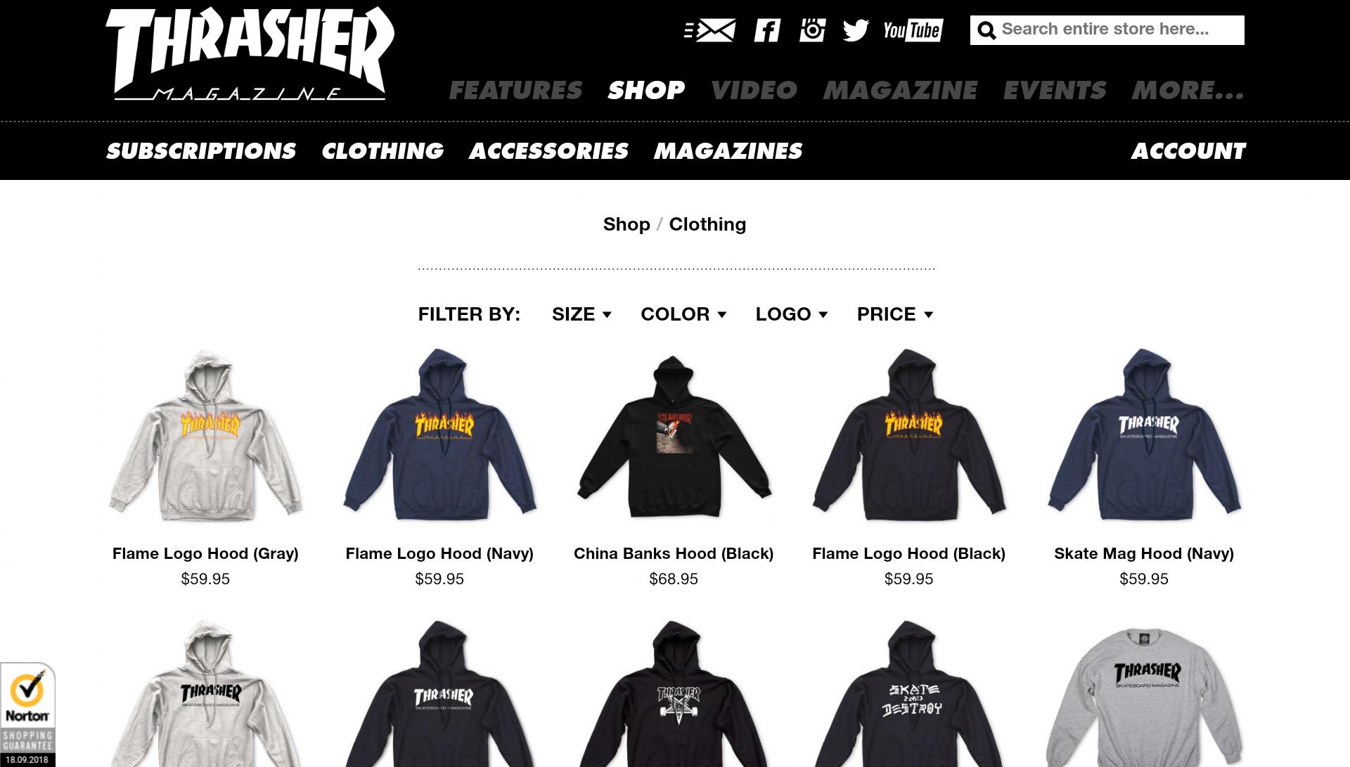 6d9fa7a18 ... скейтбордистов превратился в настоящую линию одежды, где абсолютно  любой человек может заказать то, что ему по вкусу. Печатное издание  существует до сих ...