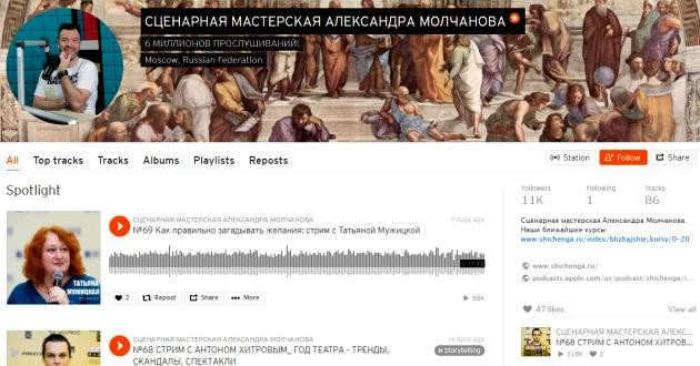Александр Молчанов soundcloud.com/shichenga